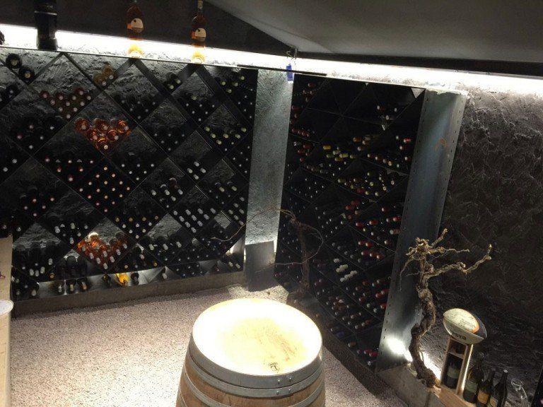 Creation et agencement d'une cave à vin