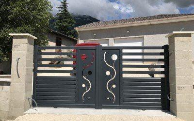 Une nouvelle installation de portail