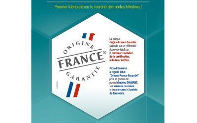 Picard obtient le «Label Origine France Garantie»