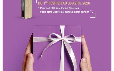 Du 01/02/2020 au 30/04/2020 : venez profiter d'une offre promotionnelle d'exception !